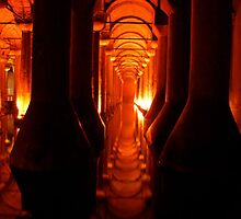 Haunting Architecture in Istanbul's Cistern by Citisurfer