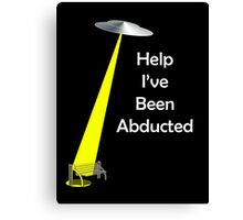 abducted  Canvas Print