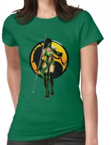 Mortal Kombat - Jade Womens Fitted T-Shirt