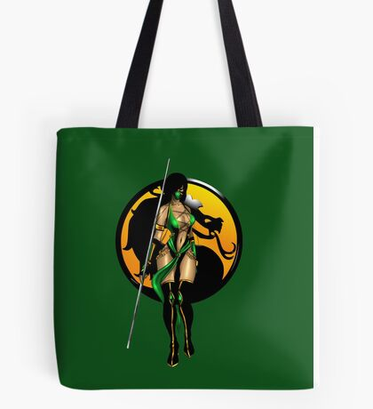 Mortal Kombat - Jade Tote Bag