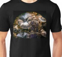 Diamonds and Gold SuperMacro 8 Unisex T-Shirt