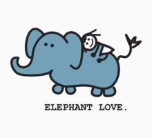 Elephant Love . Who Loves Elephants?  Kids Clothes