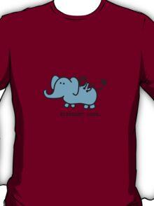 Elephant Love . Who Loves Elephants?  T-Shirt