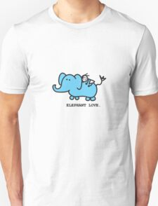 Elephant Love . Who Loves Elephants?  Unisex T-Shirt