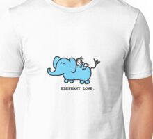 Elephant Love . Who Loves Elephants?  Unisex T-Shirt