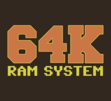 Commodore 64 - 64K RAM System by metacortex
