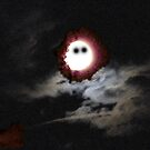 That Night Our Dainty Moon Was In A Dire Peril by ArtOfE