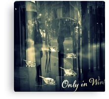 Only in Winter Canvas Print