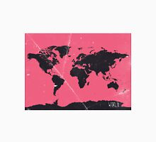 World map pink Classic T-Shirt