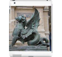 St. Michel fountain iPad Case/Skin
