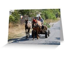 Traveling  Greeting Card