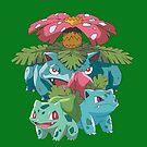 Bulbasaur evol by kjharmon3