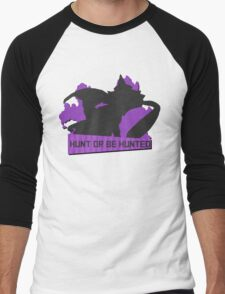 Monster Hunter - Hunt or be Hunted (Chameleos) Men's Baseball ¾ T-Shirt