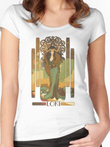 Lady Loki Women's Fitted Scoop T-Shirt