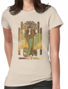 Lady Loki Womens Fitted T-Shirt