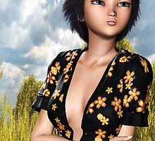 Character Model Ayame by Junior Mclean