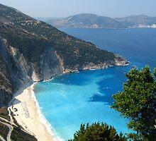 Myrtos beach by Maria1606