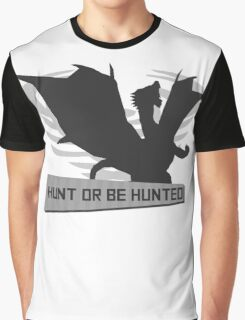 Monster Hunter - Hunt or be Hunted (Kushala) Graphic T-Shirt