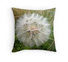 Dust Ball Throw Pillow