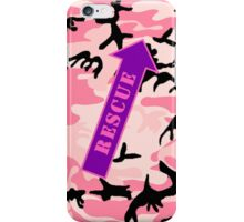 FIGHTER RESCUE - Camo Purple iPhone Case/Skin