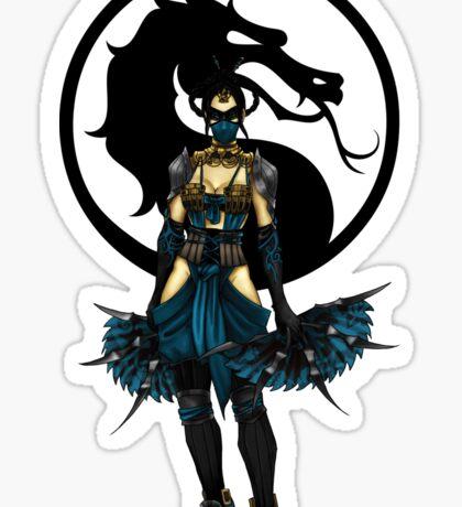 Kitana - Mortal Kombat X Sticker