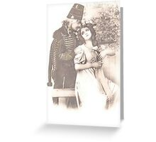 JWFrench Collection Vintage Range Intended Greeting Card