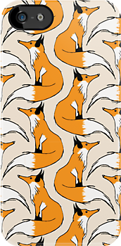 Red Fox Stripes by pondripple