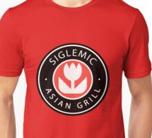 Siglemic's Hot Asian Grill (Larger Insignia) Unisex T-Shirt
