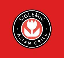 Siglemic's Hot Asian Grill (Larger Insignia) Unisex T-Shirt
