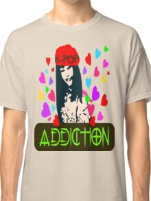 ㋡♥♫K-Pop Addicted Gorgeous Girl Clothes/Stickers♪♥㋡ Classic T-Shirt