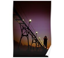 Grand Haven Pier Poster