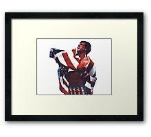 Rocky Balboa - The american dream Framed Print