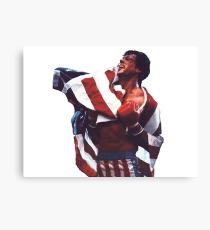 Rocky Balboa - The american dream Canvas Print