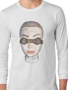head with goggles  Long Sleeve T-Shirt