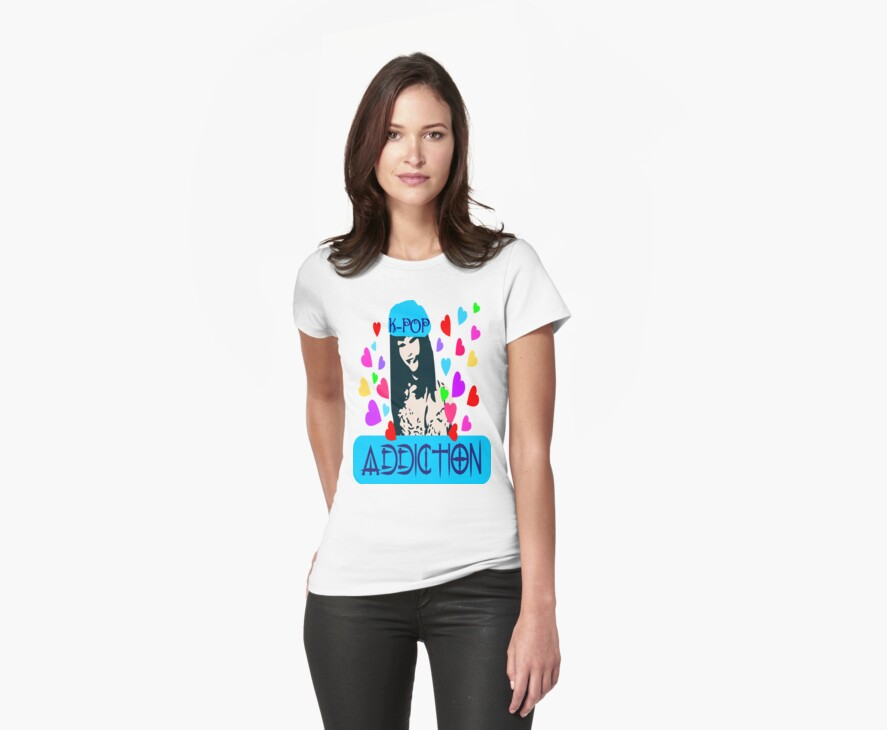 ㋡♥♫K-Pop Addicted Gorgeous Girl Clothing & Stickers♪♥㋡ by Fantabulous