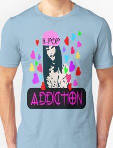 ㋡♥♫K-Pop Addicted Gorgeous Girl Clothing & Stickers♪♥㋡ Unisex T-Shirt