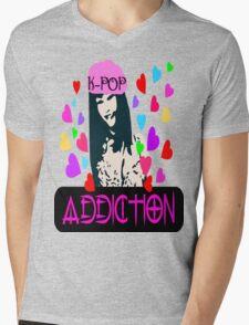 ㋡♥♫K-Pop Addicted Gorgeous Girl Clothing & Stickers♪♥㋡ Mens V-Neck T-Shirt