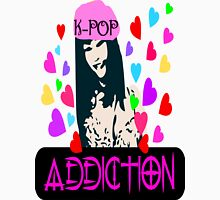 ㋡♥♫K-Pop Addicted Gorgeous Girl Clothing & Stickers♪♥㋡ Womens Fitted T-Shirt