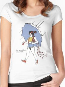 When You Catch Em' Catch Em' All! Women's Fitted Scoop T-Shirt
