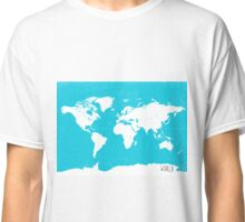 World map travel A Classic T-Shirt