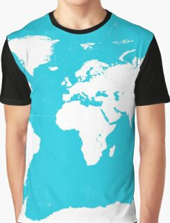 World map travel A Graphic T-Shirt