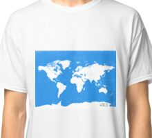 World map travel D Classic T-Shirt
