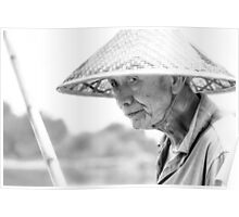 The Fisherman BW Poster