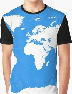 World map travel D Graphic T-Shirt