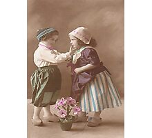 JWFrench Collection Vintage Range My First Ever Friend Photographic Print