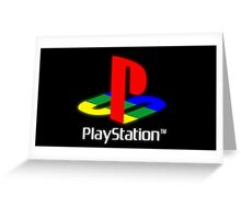 PlayStation 1 Greeting Card