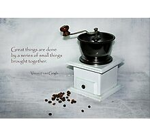 Small things brought together Photographic Print