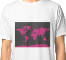 World map B PINK Classic T-Shirt