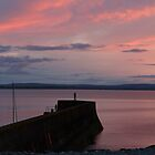 Enniscrone Pier at Sunset by Maybrick