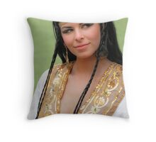 Mother of the Nile Throw Pillow